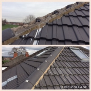 Ridge Tiles Ashton Roofer